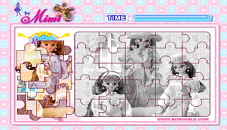 Barbie Puzzel 2