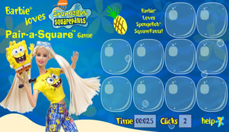 Barbie Spongebob Memory