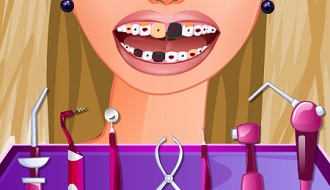 Barbie bij de tandarts