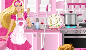 Barbie clean up