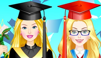 Barbie graduation day prep