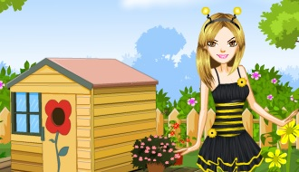 Barbie honey bee
