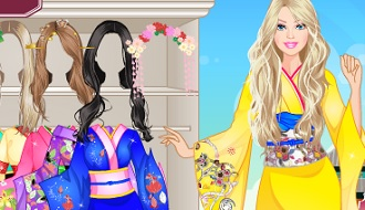 Barbie japanse outfit
